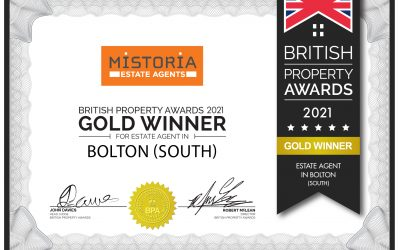 Mistoria Estate Agents Bolton: Gold Winners in the British Property Awards!
