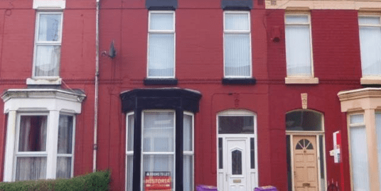Student Accommodation Liverpool | 115 Alderson Road, Liverpool, L15 1HG