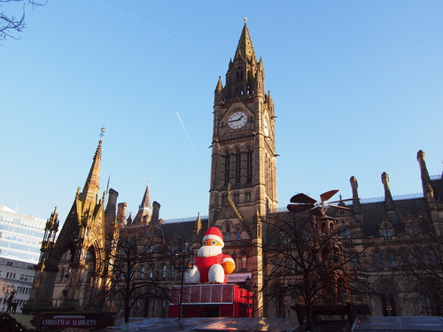 Top 5 things for students to do in Manchester during Christmas