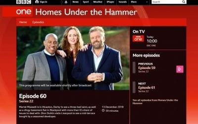 """We've been """"Under the Hammer"""""""
