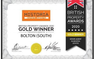 Award Win For Mistoria Bolton